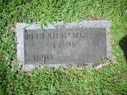 Beulah <i>Hammond</i> Cook