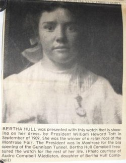 Bertha Elsie <i>Hull</i> Campbell