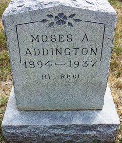 Moses Arthur Addington