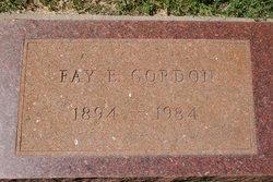 Fay Ellen <i>Boley</i> Gordon