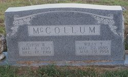Wiley Travis McCollum