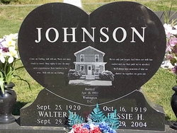Walter H Johnson