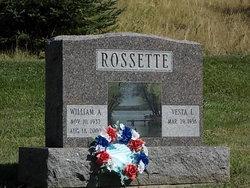 William A Rossette