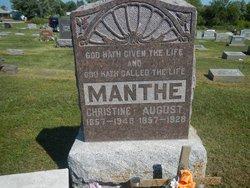 Christine <i>Hoeppner</i> Manthe