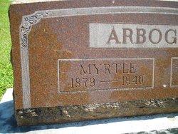 Myrtle Emma <i>McCaleb</i> Arbogast