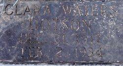 Clara <i>Waters</i> Dotson