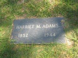 Harriett M <i>Clark</i> Adams