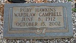 Ruby Hawkins <i>Wardlaw</i> Campbell