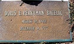 Doris E. <i>Perryman</i> Bacelic