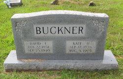 David F Buckner