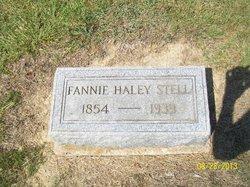 Della Frances Fannie <i>Haley</i> Stell