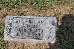 Batheaha <i>Lamb</i> Adams