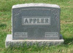 Bertha A. <i>Wilt</i> Appler