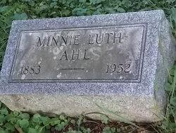Minnie Luth Ahl