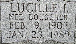 Lucille I. <i>Bouscher</i> Pyle