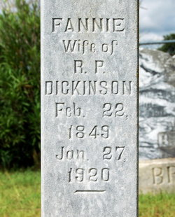 Fannie <i>Base</i> Dickinson
