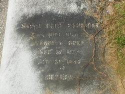 Sarah Floy Sallie <i>Ethridge</i> Bell