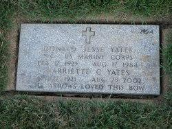 Harriette C Yates