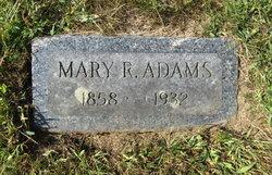 Mary J <i>Robb</i> Adams