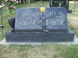 Richard Raymond Pee Wee Friedrichs