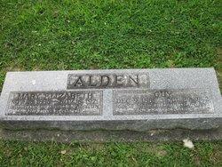 Mary Elizabeth <i>Smith</i> Alden