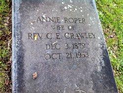 Annie <i>Roper</i> Crawley