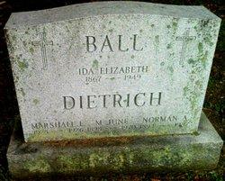 Marshall L Dietrich