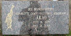 Charlotte Kaliehiwa K Amy Akao