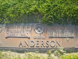 Olga Christine <i>Petersen</i> Anderson