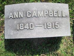 Ann M <i>Wilson</i> Campbell