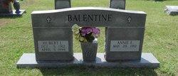 Annie Elizabeth <i>Wallis</i> Balentine