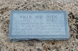 Willie Mae <i>Hogan</i> Aven