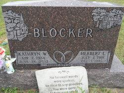 Kathryn Willadean <i>Overmyer</i> Blocker