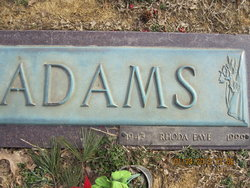 Rhoda Faye Adams