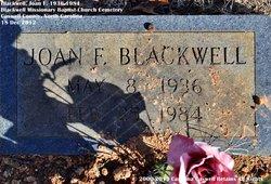 Joan F. Blackwell