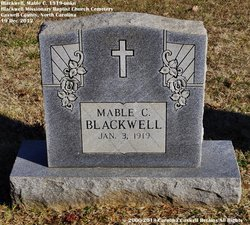 Mable C. Blackwell