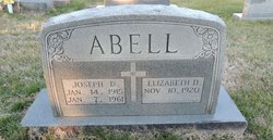 Elizabeth D Abell