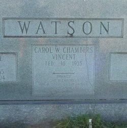 Carol W <i>Vincent</i> Chambers