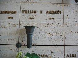 William Henry Ahrendt, Sr