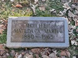 Matilda A. Martin