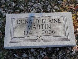 Donald Blaine Martin