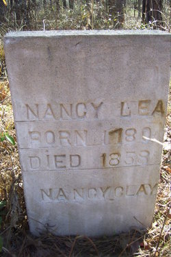 Nancy <i>Clay</i> Lea