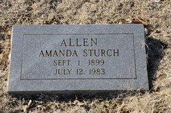 Amanda <i>Sturch</i> Allen