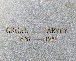 Grose E Harvey