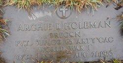 Archie Boone Holeman