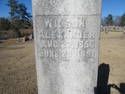 Wilson Alexander