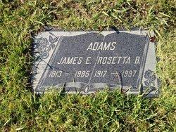 Rosetta <i>Bennett</i> Adams