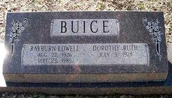 Dorothy Ruth <i>Wammack</i> Buice