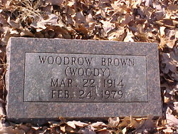 Woodrow Woody Brown
