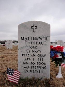 Matthew Barrett Thebeau